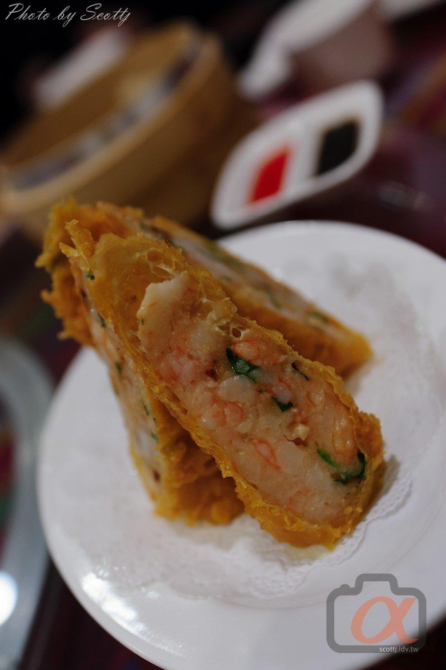 金華苑 鮮蝦腐皮捲